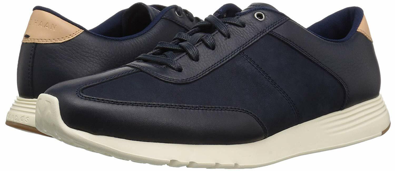 Cole Haan Men's Grand Crosscourt Running Sneakers Marine bluee Canvas Size 10.5M