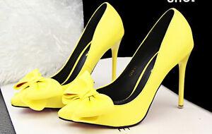Elegantii Eleganti 11 Giallo Decolte Donna 8596 5 Stiletto Scarpe Cm aw0q77