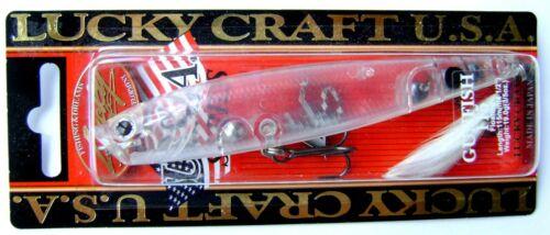 Lucky craft gunfish 115 topwater surface fishing lure sea bait rigid japan