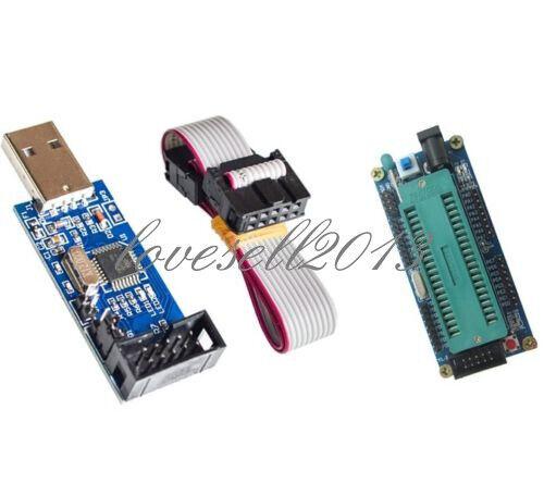 ATMEGA16 Minimum System AVR Board ATmega32 USB ISP USBasp Programmer For ATMEL