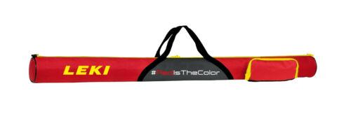 Leki Polebag Red Stick Bag 51 3//16in for 2 Pair Nordic Walking /& Alpine Poles