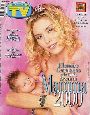 rivista TV SORRISI E CANZONI ANNO 2000 NUMERO 1 ELENOIRE CASALEGNO | eBay