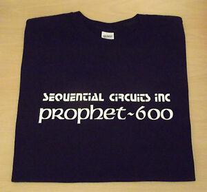 RETRO-T-SHIRT-SYNTH-DESIGN-PROPHET-600-S-M-L-XL-XXL-SEQUENTIAL-CIRCUITS