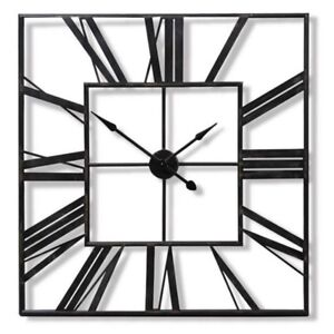 Image Is Loading LARGE OUTDOOR GARDEN WALL CLOCK BIG ROMAN NUMERALS