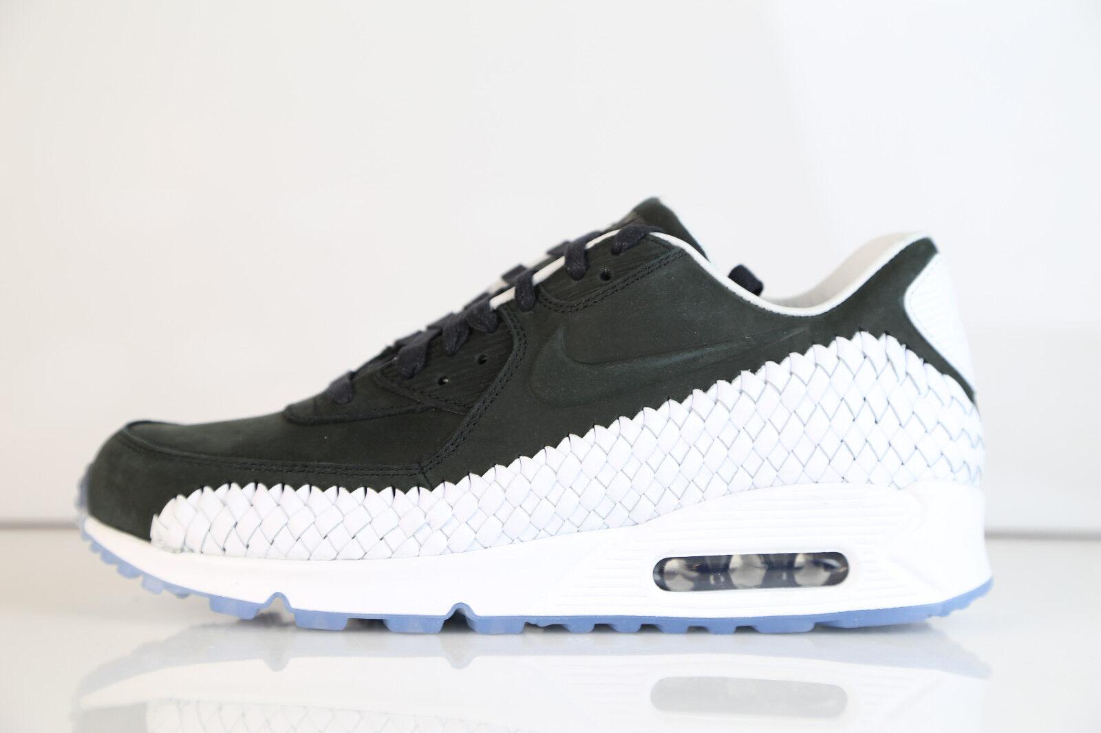 Nike air max 90 aus premium - schwarz - weiße 833129-003 8 - 13 1 oberste qs