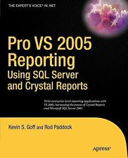 PRO VS 2005 REPORTING USING SQL SERVER AND - NEW PRE-LOADED AUDIO PLAYER BOOK