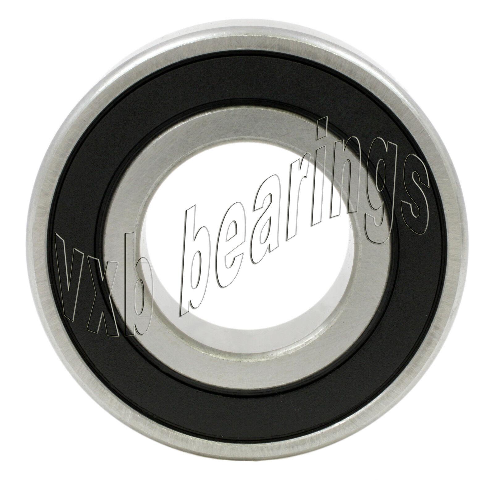 6201-2RS Bearing 12x32x10 Si3N4 Ceramic Stainless Premium ABEC-5