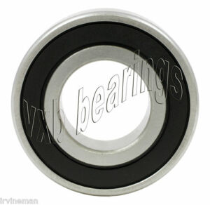 6206LU Double Sealed 30mm x 62mm x 16mm Ball Bearing 30x62x16 Metric mm Diameter