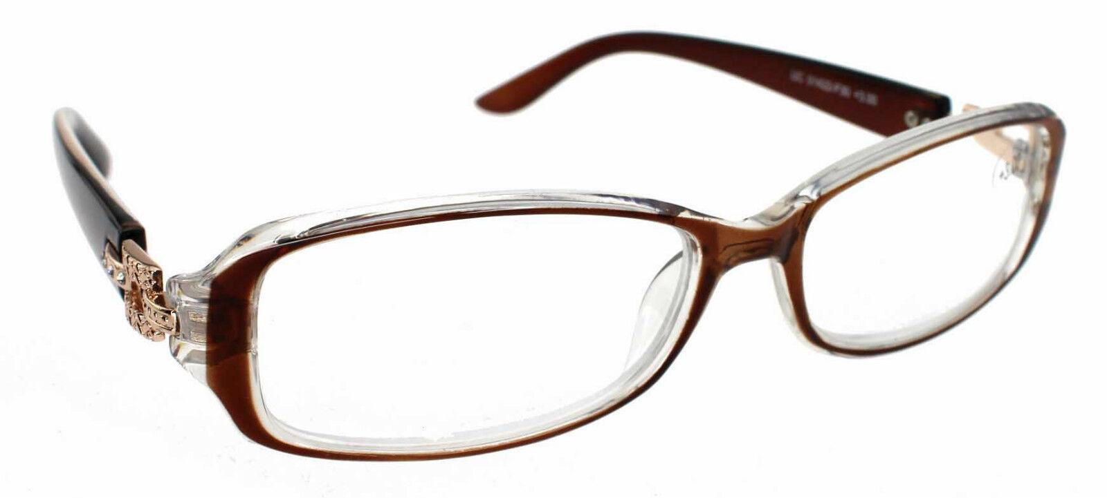Half Frame Reading Glasses Australia : Mens Ladies Magnifying Reading Glasses Clear Half Frame 1 ...
