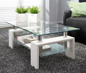 Couchtisch glastisch tisch wohnzimmertisch 110 x 60 x 45 for Glastisch wohnzimmertisch