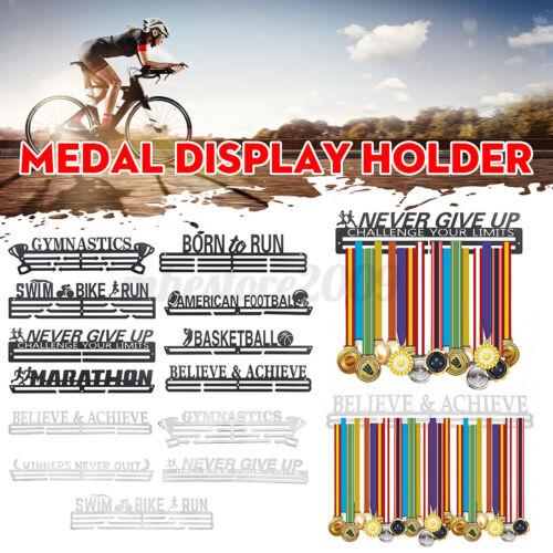 Stainless Steel Medal Holder Display Rack Shelf Sport Running Medal Hanger  j