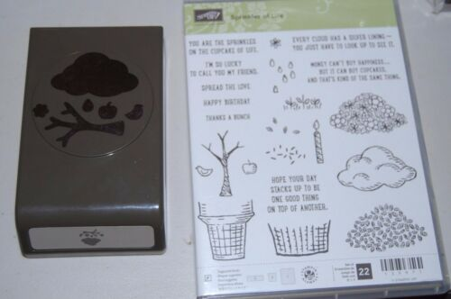 Stampin' UP! Sprinkles of Life set of 22 wmatching Tree Builder Punch NIP