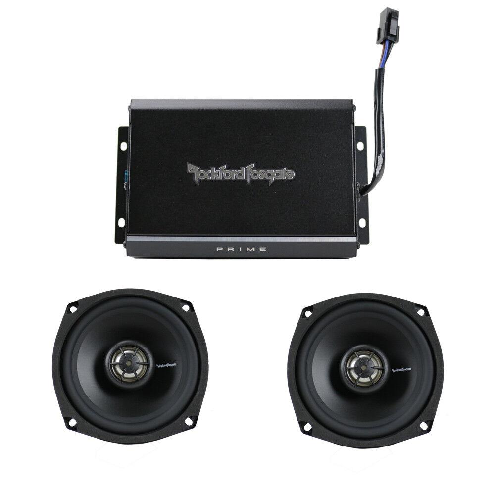 rockford fosgate r1 hd2 9813 2 channel harley motorcycle amplifier