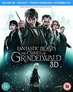 Fantastic Beasts: The Crimes of Grindelwald (3D Blu-ray) Harry Potter