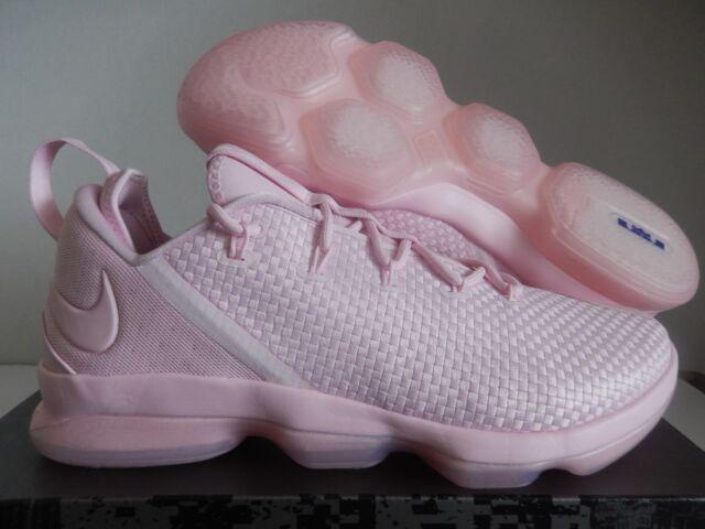 separation shoes c4ede 02f7c RARE Mens Nike Lebron XIV Low 878636-600 Prism Pink Size 14