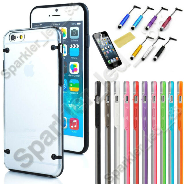 For Apple iPhone 6 6s Plus Rubber Gel Ultra Thin Case Cover Transparent Clear