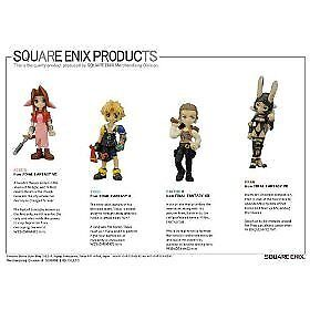 Final Fantasy Trading Arts Vol.   3 Pvc M. Figure Aerith, Tidus, Bathier Et Fran 662248808192