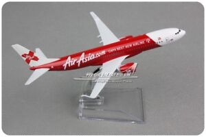 Air Asia BOEING 737 Passenger Airplane Plane Aircraft Diecast Model Collection