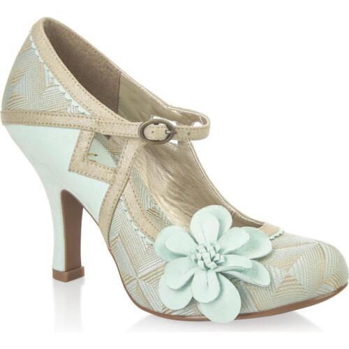 Mint//Gold EU 36-38 Ladies Ruby Shoo Cindy shoes