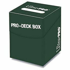ULTRA-PRO-PRO-DECK-BOX-GREEN-FOR-MTG-WoW-POKEMON-YUGIOH-CARDFIGHT-VANGUARD