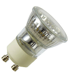 2 x mini gu10 halogen light bulbs 35mm small gu10 35w ebay. Black Bedroom Furniture Sets. Home Design Ideas