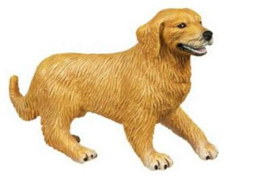 Golden Retriever 9 cm vieja ejecución Safari Ltd 238929a
