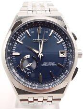 Citizen Satellite Wave World Time GPS Perpetual Mens Watch CC3020-57L