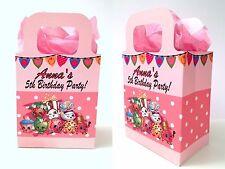 Shopkins Festa Borse, Personalizzata Favore, trattare Scatole Regalo Dolci Ragazze Compleanno