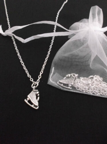 Birthday Gift Skate Boot Winter Snow Ice Skating Necklace Party Bag//Filler