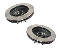 Set Of 2 Ford Econoline E-150 Econoline Wagon Front Disc Brake Rotor 40518010 on sale