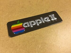MINT-Original-Apple-II-Name-Plate-from-Apple-Computer-Rare