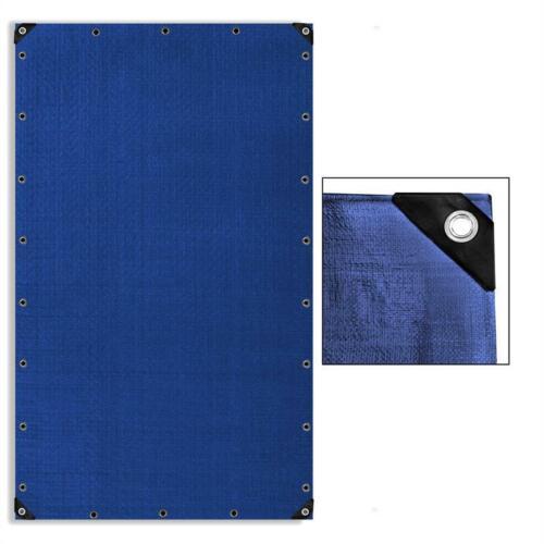 Abdeckplane 180 g//m² blau grün 4x6 m Plane Folie Schutz Boot Sand PE Gewebe Holz