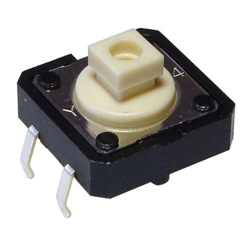 Connecteurs, interrupteurs, câbles Interrupteurs à pression 3 mm couché 855093 5 OMRON b3f-4050 Mini-boutons poussoir 1ma-50ma 5v-24v 1 xein 1,27n 12x7