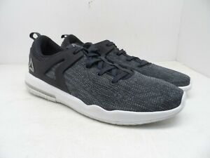 Reebok Men s HEXA LITE X Glide Running Shoes BD1356 Gray Size 13M  3647766eb