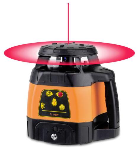 geo-FENNEL Horizontal+Vertikal-Rotationslaser FL 245HV mit Handempfänger FR 45