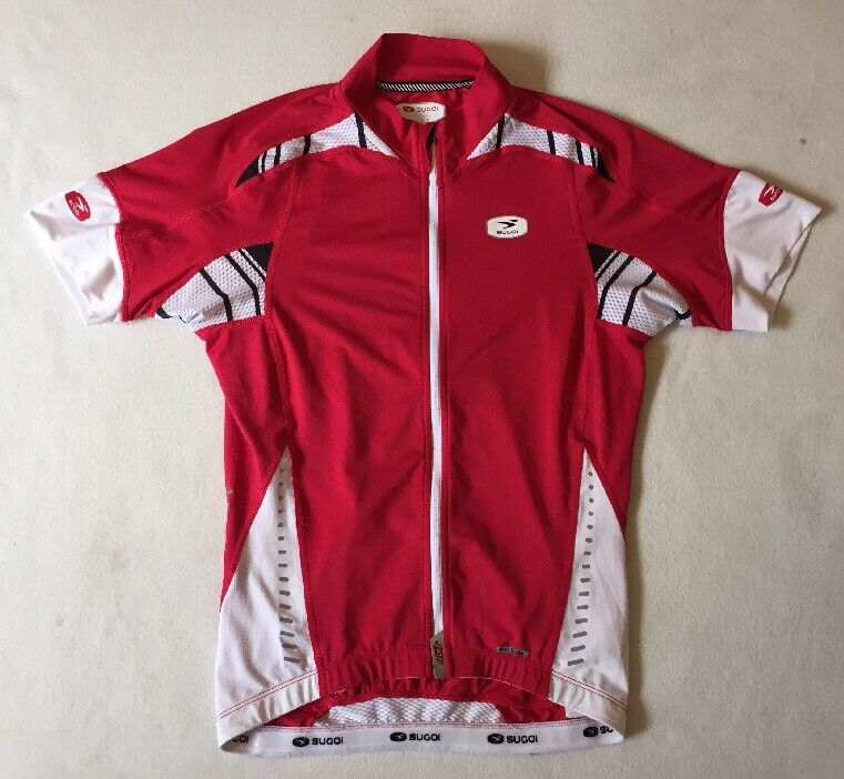 Mens Sugoi Fino RS Pro Cycling Jersey Shirt SMALL 'TOUR FRANCE WIGGINS FROOME'