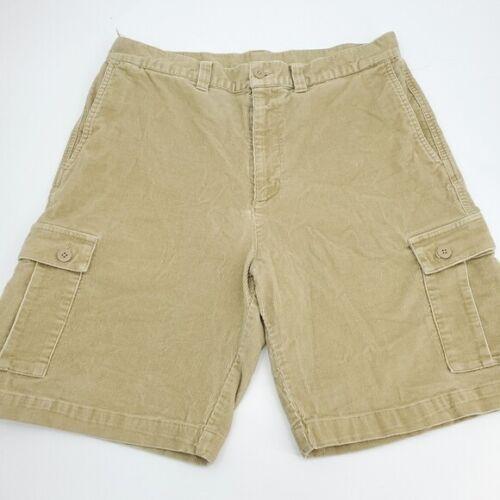 Patagonia corduroy cargo shorts 36 beige