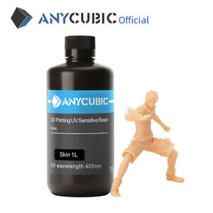 ANYCUBIC 3D Drucker 1000ml/1L 405nm UV Resin für LCD/DLP/SLA 3D Drucker SKIN