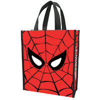 Marvel Spiderman Small Recycled Shopper Tote Toys Carrier X-men