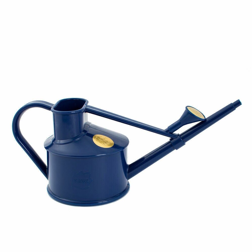 0.7L Haws Handy Indoor House Plant Plastic Watering Can Fine Spray Rose Blue