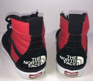 a7b92cd68b VANS The North Face Sk8 Hi 46 MTE DX Red   Black Sneaker VN0A3DQ5QWS ...