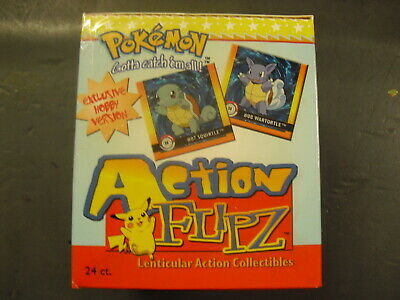 Pokemon Action Flipz Flips Trading Card 24 Booster Pack Box Premier Edition