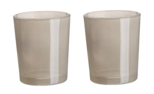 Farben HOBBYFUN Tischdeko Teelichthalter Glas 3750 2x DEKO-TEELICHTGLÄSER div