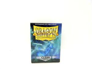 100 Sleeves Dragon Shield 11001 Matte Clear Standard Sleeves
