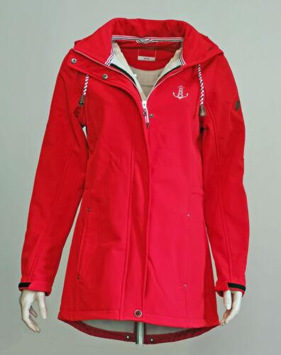 Modas Femmes Softshell Veste Rouge 32//34 à 52//54