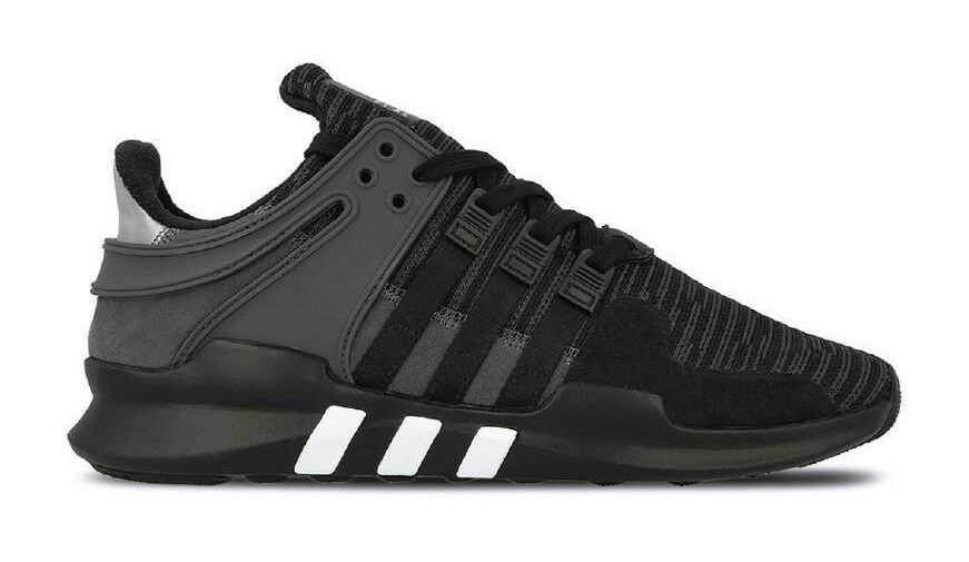 Adidas EQT SUPPORT SUPPORT SUPPORT ADV Core Negro Utility Negro Gris BB1297 (640) Hombre Zapatos 18b042