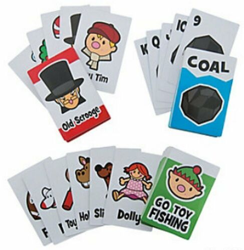Pack of 3 Christmas Card Games Christmas Party Stocking Fillers