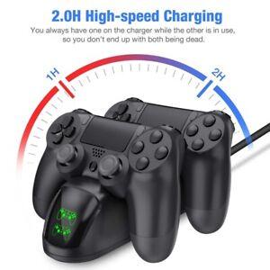 Para-el-controlador-de-PS4-Estacion-de-carga-rapida-Soporte-Dock-Base-de-Cargador-Usb-Dualshock