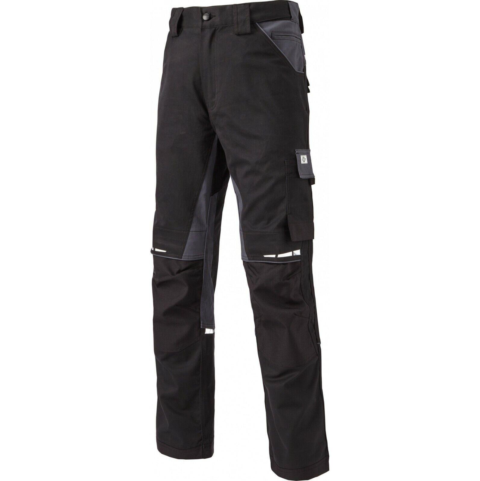 Dickies GDT Premium Pantalones Negro gris Men's Workwear país agricultura de disparo