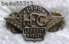 LADIES OF HARLEY OWNERS GROUP HOG LOH 1999 PIN 99